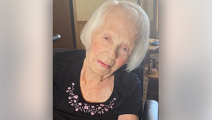Lois Shute of Kingman celebrated her 102nd birthday on Sunday, July 11. (Courtesy photo)
