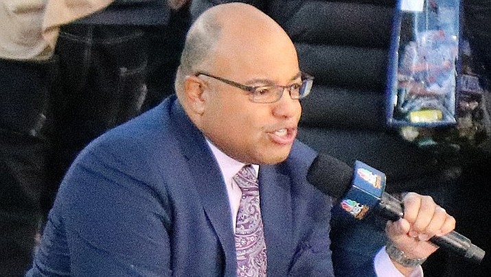 NBC sportscaster Mike Tirico will take over as the host of NBC's Olympics coverage when the postponed 2020 summer games begin in Tokyo next week. (Photo by Jeffrey Beall, cc-by-sa-4.0, https://bit.ly/2TjmRMM)