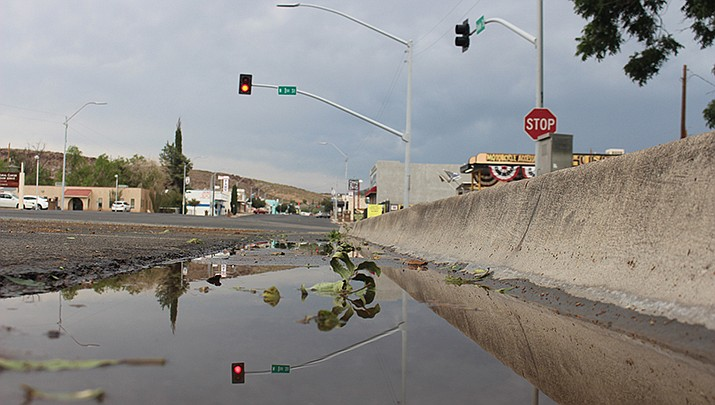 The Kingman area is under a Flash Flood Watch until 9 p.m. Monday, July 19, as the National Weather Service forecasts a 40% and 20% chance of thunderstorms during the day and night, respectively. (Miner file photo)