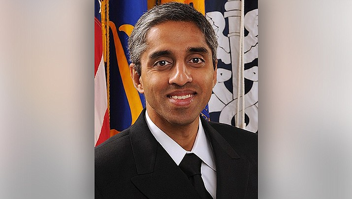 U.S. Surgeon General Dr. Vivek Murthy said Sunday, July 18 that he's concerned about the rapidly rising COVID-19 case count as the unvaccinated suffer as the delta variant spreads across the nation. (Public domain)