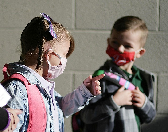 """Dr. Cara Christ told Capitol Media Services she still believes that the best place for children is in school. """"It's the safest place for kids,'' she said, though she said unvaccinated students should be wearing masks even though state lawmakers have now prohibited districts from requiring their use. VVN file/Bill Helm"""