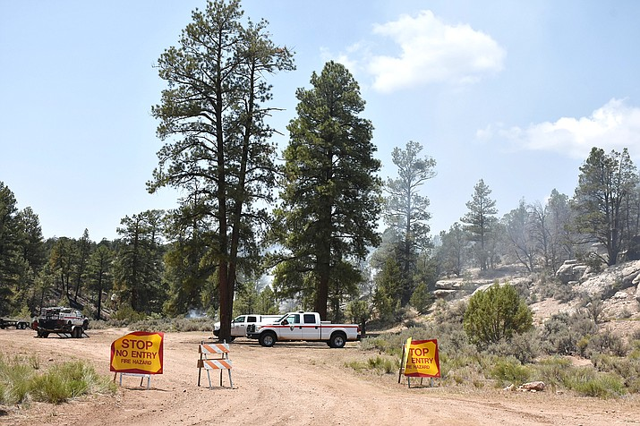 The O'Connell Fire was discovered July 12. It has burned 190 acres and is 95 percent contained. (Photo/Inciweb, Kaibab National Forest)