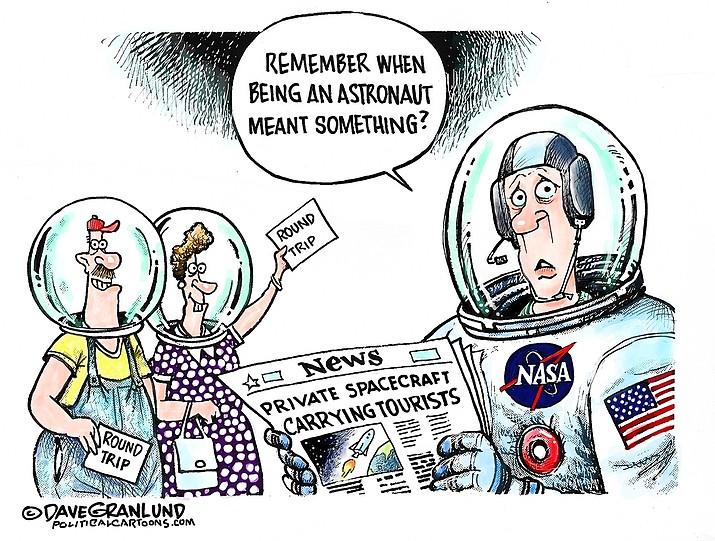 Editorial cartoon (1): July 21, 2021