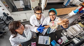 NAU professor inspires students while advancing cancer research photo