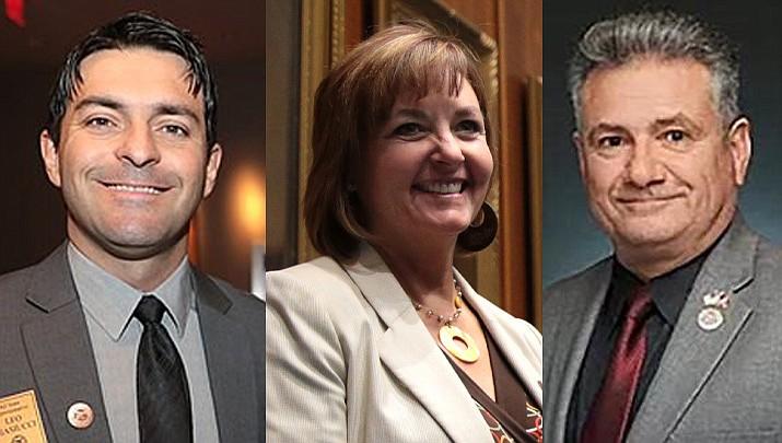 State Rep. Leo Biasiucci (R-Lake havasu City), State Rep. Regina Cobb (R-Kingman) and State Sen. Sonny Borrelli (R-Lake Havasu City) (Courtesy photos)