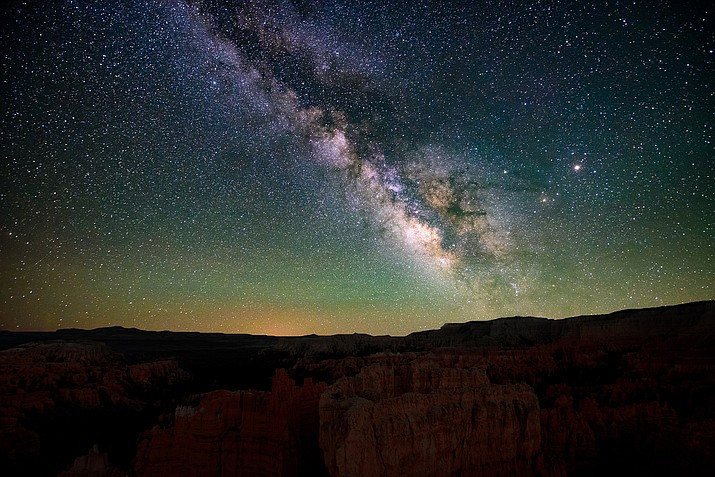The loss of dark skies because of new technology like Starlink satellites is a concern for some astronomers. (Adobe Stock)