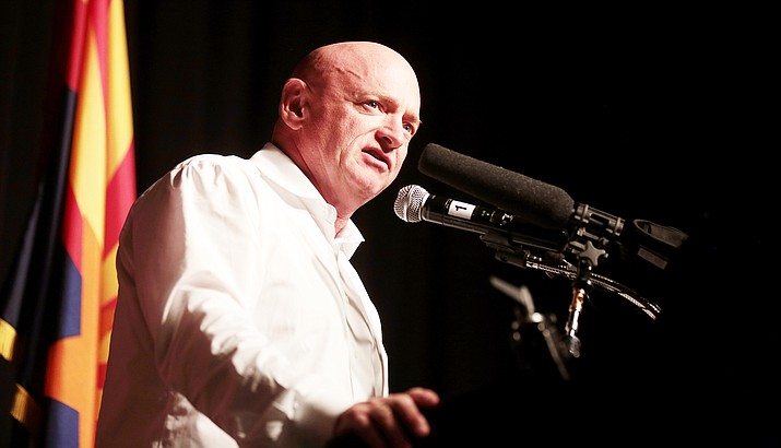 Sen. Mark Kelly, D-Ariz., won a special election last year to replace the late Sen. John McCain in what became the most expensive campaign in state history. With the seat up again in 2022, and control of the Senate at stake, Kelly is already fundraising heavily for a race that has drawn a number of Republican challengers. (Photo by Gage Skidmore/Creative Commons)
