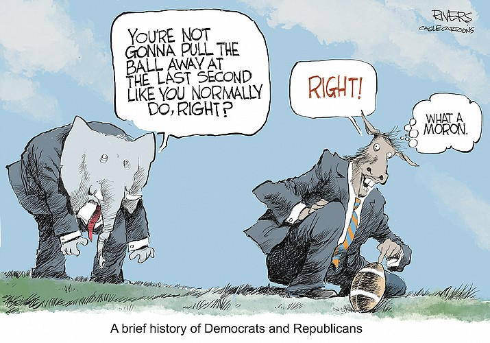 Editorial cartoon (2): July 22, 2021