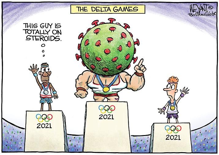 Editorial cartoon (1): July 23, 2021