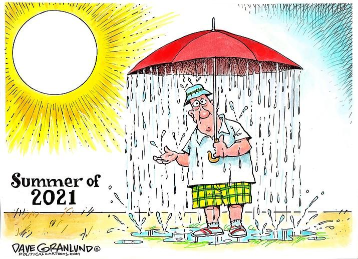 Editorial cartoon (2): July 23, 2021