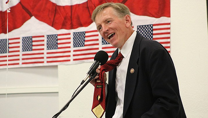 Congressman Paul Gosar (R-Prescott), who represents the Kingman area in the U.S. House, has lost the financial backing of the American Dental Association, the group announced last week. (Miner file photo)