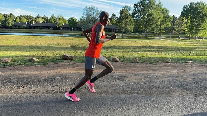 Abdi Abdirahman, 44, is considered by many past his marathon prime, but with the right training, patience and consistency he's found the ideal balance to compete in his fifth Olympics. (Photo courtesy Mo Farah)