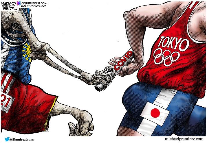 Editorial cartoon (2): July 26, 2021