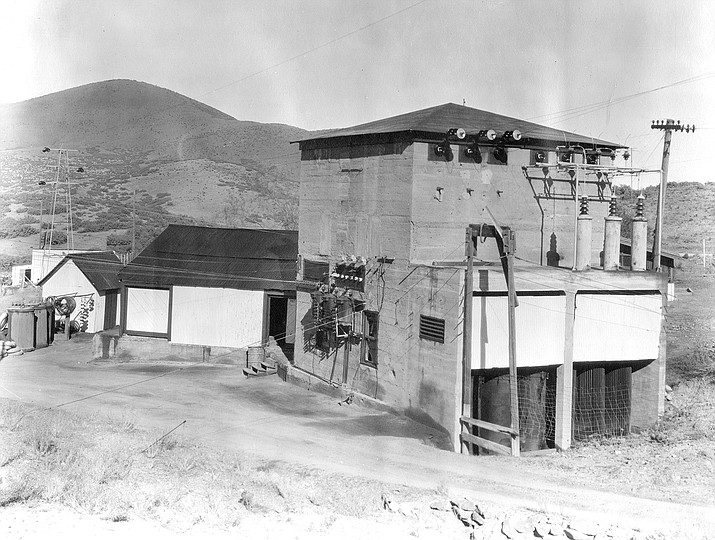 Poland Junction Substation, circa 1935. Call #1100.2021.3001. MS- Box 5. (Sharlot Hall Museum Research Center/Courtesy)
