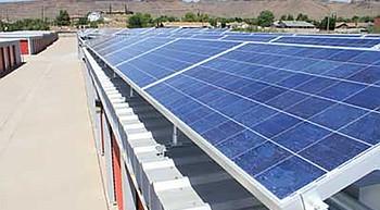 Kingman Unified School District installing solar panels photo