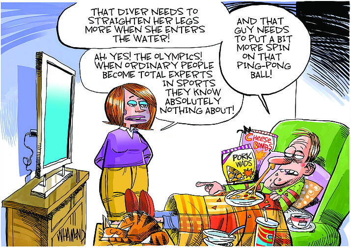 Editorial cartoon (1): July 27, 2021