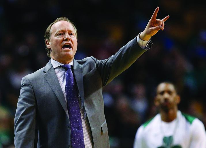Mike Budenholzer led the Bucks to the 2021 NBA title. (Photo/Associate Press)
