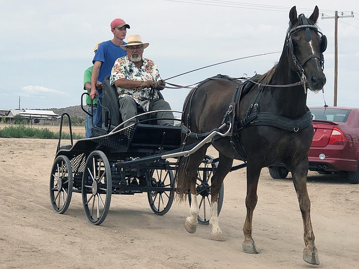 About 150 people turned out for the Chino Valley Chamber of Commerce's first mixer of the year at the Chino Valley Equestrian Park. (Corrina Sisk-Casson/Review)
