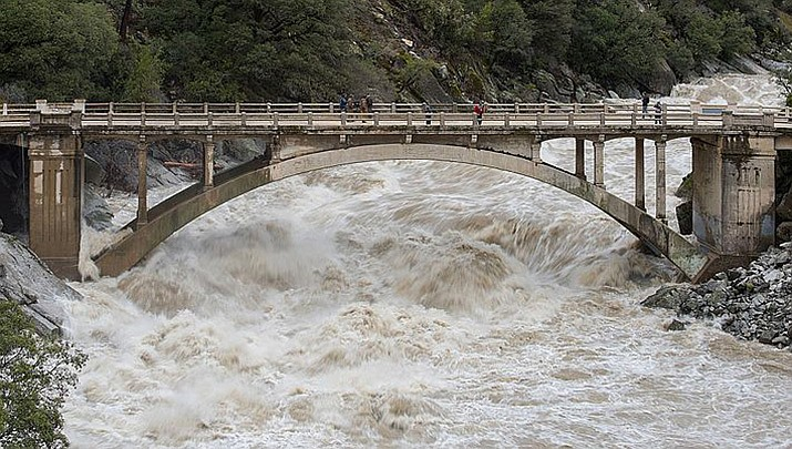 The body of a 4-year-old Pima girl was discovered Monday, July 26, after she was swept away by floodwaters on Thursday. (Photo by California Department of Water Resources/Public domain)