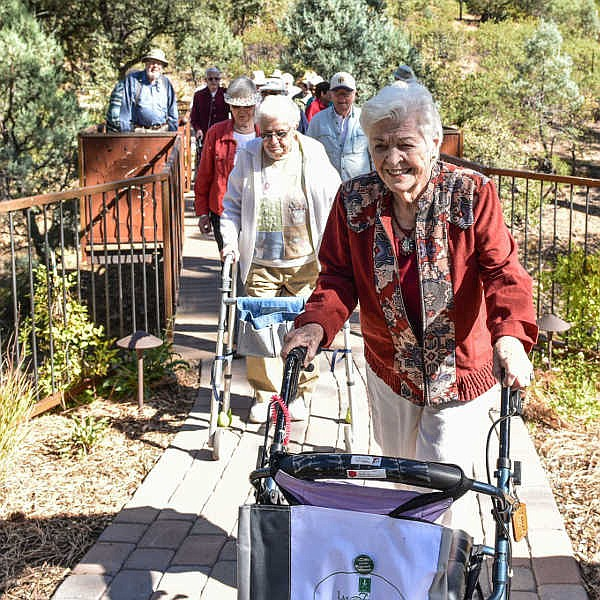 Life Enrichment Through Nature - Thursday's, Aug. 5 to Sept. 9. A natural history course designed with seniors in mind, conducted entirely in the Discovery Gardens with short strolls on paved, walker-friendly paths. (Highlands Center/Courtesy)