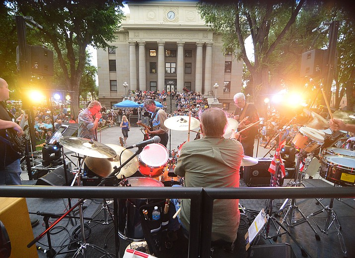 Road One South will play at the National Night Out Kickoff on the Yavapai County Courthouse plaza Friday, July 30, 2021, in downtown Prescott. The concert begins at 6 p.m. (Courier file)