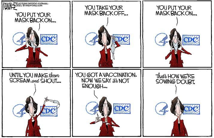 Editorial cartoon (2): July 30, 2021
