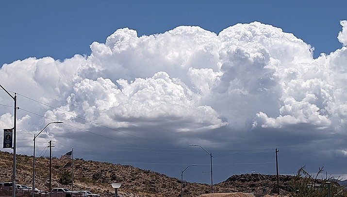 The National Weather Service is predicting a chance of rain for the Kingman area daily though Monday, Aug. 2. (Miner file photo)