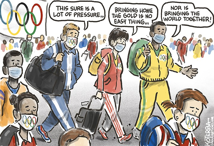 Editorial cartoon (2): July 31, 2021