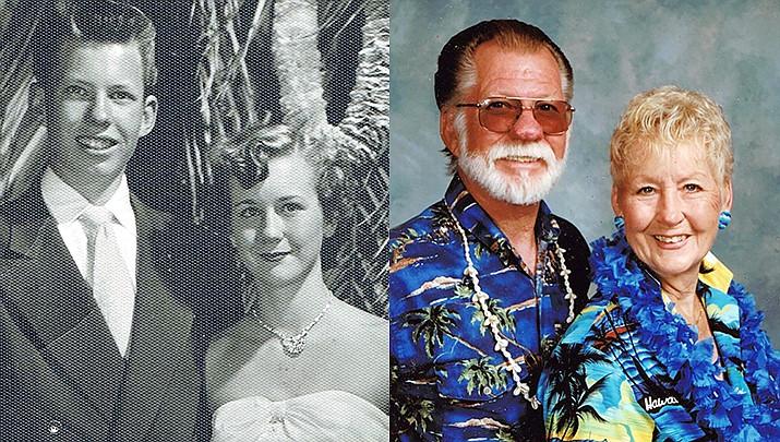 Ed and Gerry Tumey of Prescott were married July 25, 1951, in Kingman, Arizona.