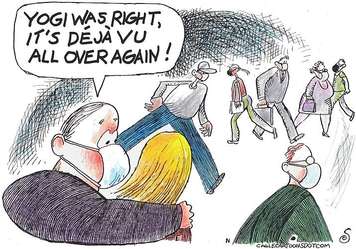 Editorial cartoon (1): August 3, 2021