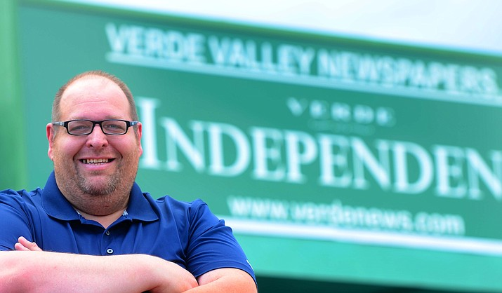 Brian M. Bergner Jr. is editor for The Verde Independent in Cottonwood, Arizona. (Independent file photo.)