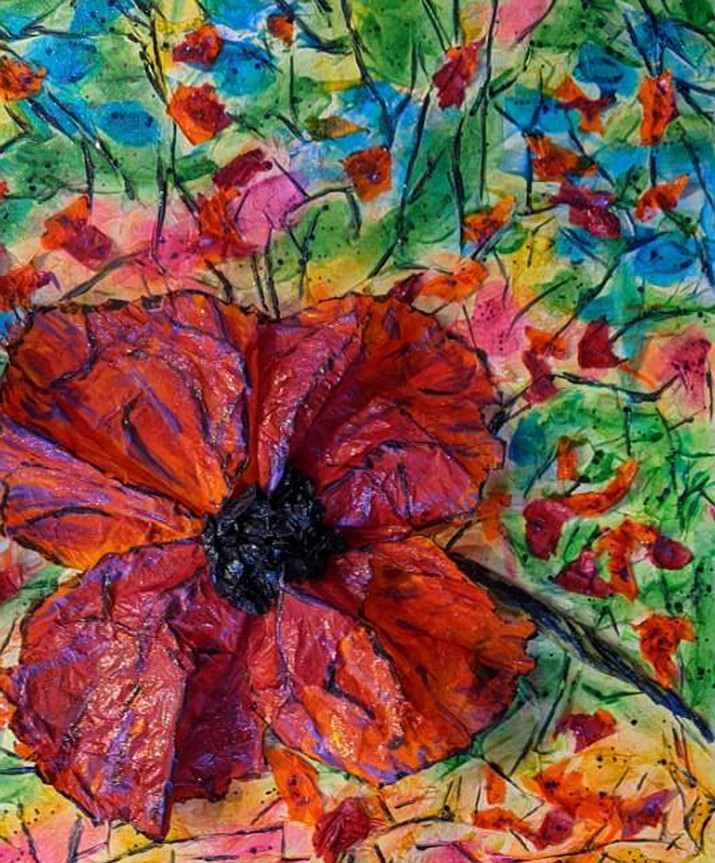 Field of Flowers by Florence Johns Vezie.