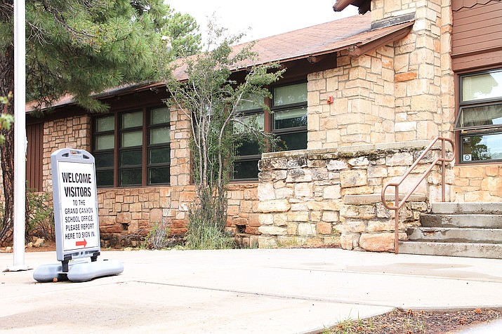 Grand Canyon School is offering in-person instruction this year after remote learning was the only optional during the COVID-19 pandemic. (Loretta McKenney/WGCN)