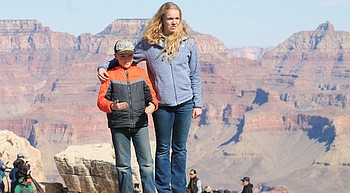 Tourists return to Grand Canyon, but not like before pandemic photo