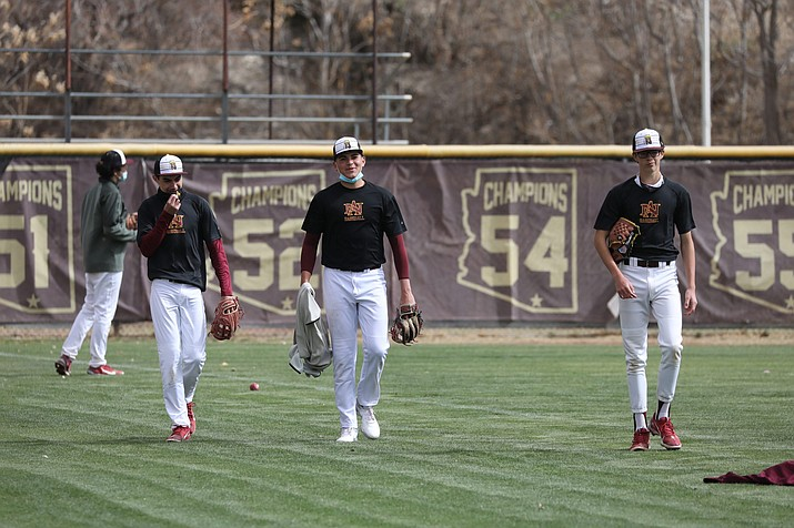 Principal Tim Colgate said Nogales High School does not have an official relationship with the Apache people but that he has not encountered any pushback about the team's nickname. (Alina Nelson/Cronkite News)