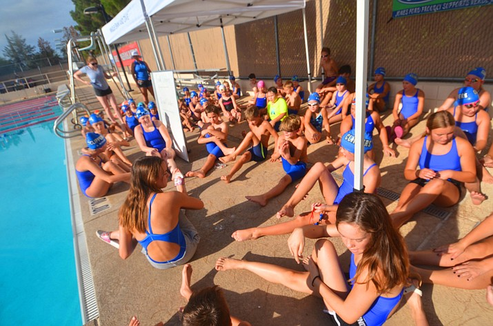The Cottonwood Clippers ended their season with a swim meet and an end-of-the-year party Saturday, July 31, 2021. (Vyto Starinskas/Independent)