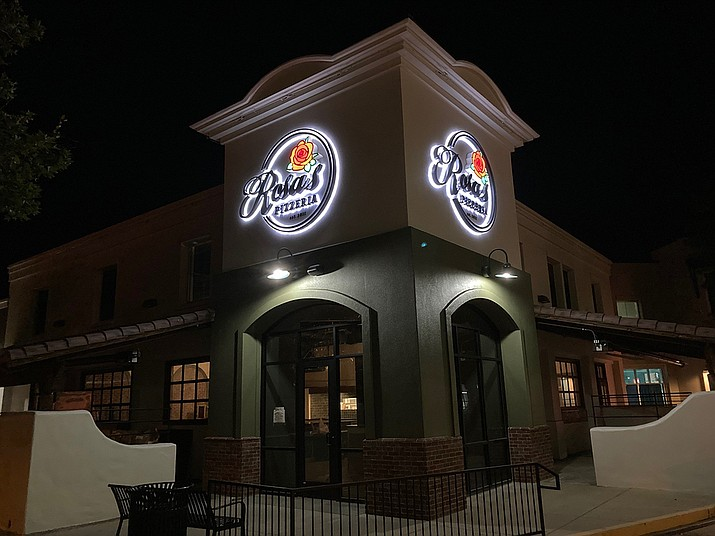 Rosa's Pizzeria, a culinary favorite for years on West Gurley Street in downtown Prescott, plans to open its second location soon at the Prescott Valley Entertainment District where the former Garcia's Mexican restaurant stood. (Doug Cook/Courier)