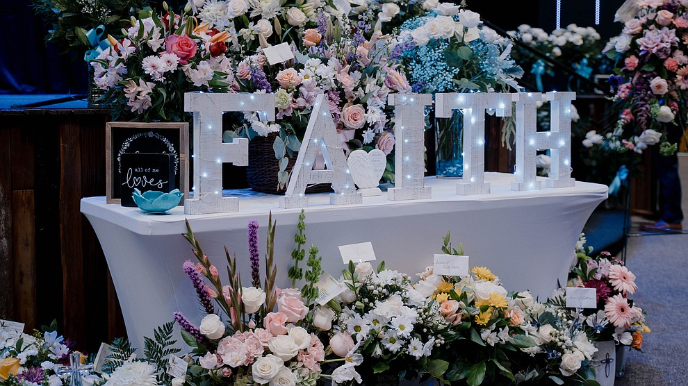 A celebration of life for 16-year-old Faith Moore was held at Verde Community Church in Cottonwood on Sunday, Aug. 8, 2021. (Jen Cox/Courtesy)