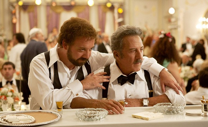 Based on Mordecai Richler's award winning novel –  'Barney's Version' features an award-winning ensemble cast, including Paul Giamatti, Dustin Hoffman, Rosamund Pike, Minnie Driver, Rachelle Lefevre and Bruce Greenwood. (SIFF/Courtesy)