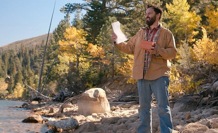 """When Leif's (Jake Johnson) estranged hippie mom Honey (Susan Sarandon) dies, she leaves him her incredible Yosemite cabin and a """"conditional inheritance."""" Before he can move into her picturesque cabin, he has to complete her elaborate and sometimes dubious to-do list. (SIFF/Courtesy)"""