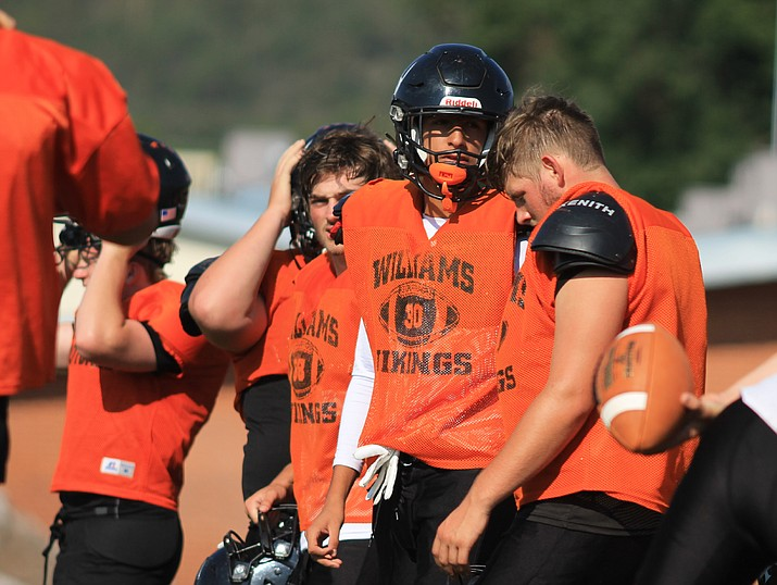 The Vikings have a scrimmage Aug. 13 at Williams High School. (Wendy Howell/WGCN)