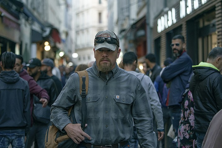 'Stillwater' starring Matt Damon in theaters. (AP Photo)