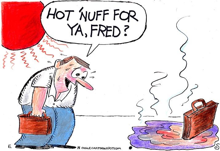Editorial cartoon (2): Aug. 16, 2021