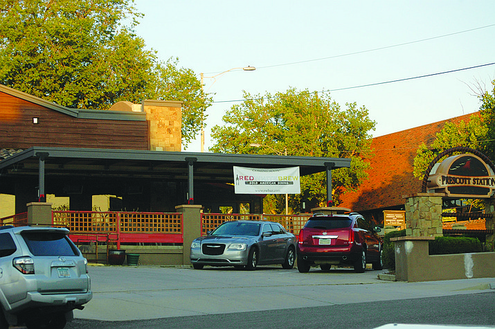 Red, White & Brew (RWB), a restaurant that serves traditional dishes and new American favorites, plans to open this fall of 2021 at the former Prescott Station, 200 E. Gurley St., in downtown Prescott. (Doug Cook/Courier)
