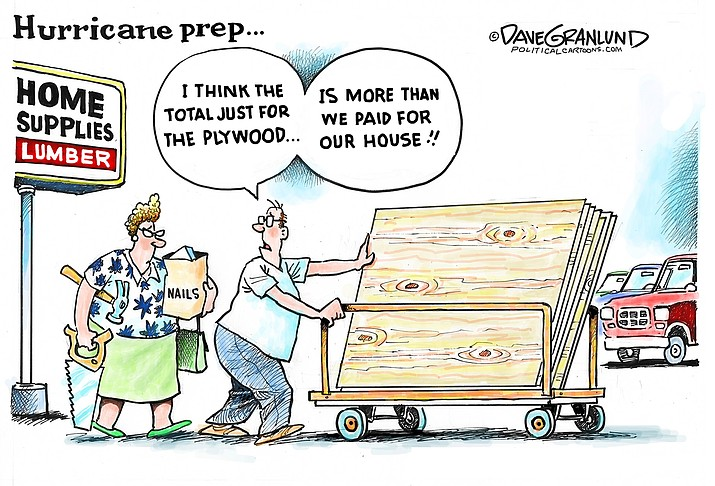 Editorial cartoon (1): Aug. 17, 2021