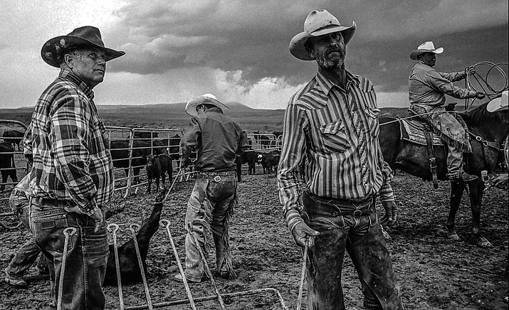 """Told in the cinematic tradition of classic westerns, """"Cowboys: Documentary Portrait"""" is a feature-length film that gives viewers the opportunity to ride alongside modern working cowboys on some of America's largest and most remote cattle ranches. (SIFF/Courtesy)"""