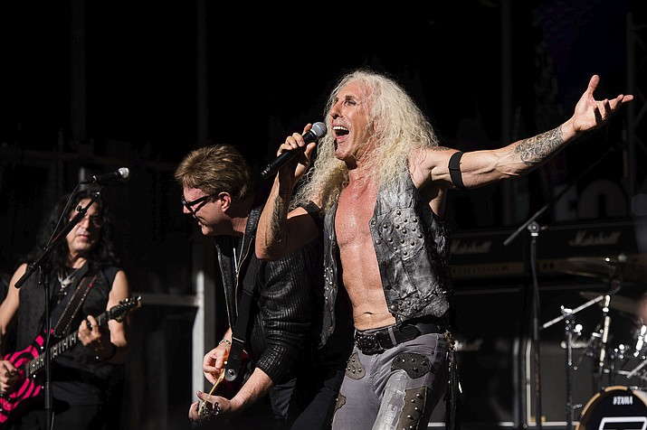 """Dee Snider """"Leave A Scar"""" (Napalm). (AP photo)"""