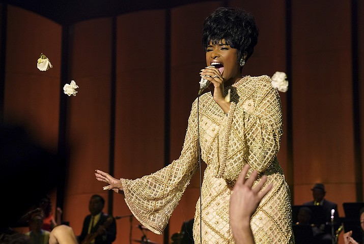 Jennifer Hudson portrays Aretha Franklin the Queen of Soul in 'Respect'. (AP photo)
