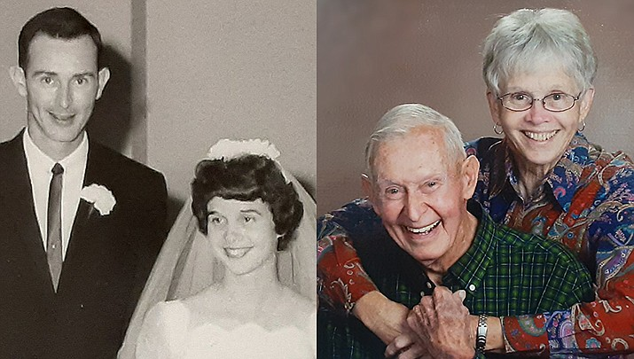 Jerry W. Jackson and Patricia D. Shilcutt tied the marital know 60 years ago – on Aug. 26, 1961 – at the First United Methodist Church in downtown Lubbock, Texas. (Courtesy)