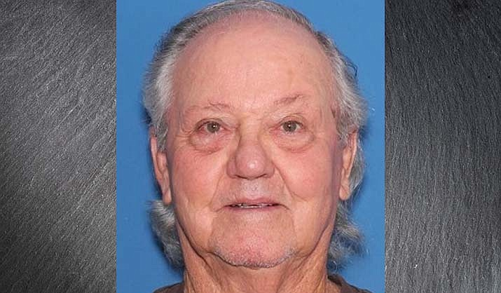 David Williams, 85, went missing Thursday, Aug. 19, 2021, near Sycamore Creek and the confluence of the Verde River. His car was found unattended near the trailhead at Sycamore Canyon Creek. (YCSO/Courtesy)